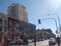 Vista di Valparaiso, Cile fotografia stock libera da diritti