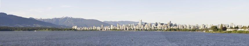 Vista di Vancouver da acqua Immagine Stock