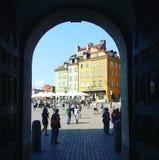 Vista di Varsavia fotografie stock libere da diritti