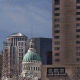 Vista di vecchia Camera di corte maestosa a St. Louis Fotografia Stock Libera da Diritti