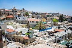 Vista di vecchia città Immagini Stock Libere da Diritti