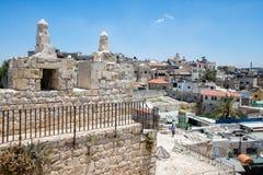 Vista di vecchia città Fotografia Stock Libera da Diritti