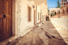 Vista di vecchia città in Chania, Creta Fotografia Stock