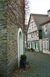 Vista di vecchia città pittoresca di Wuelfrath Fotografia Stock