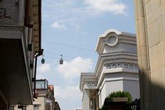 Vista di vecchia Tbilisi Immagine Stock