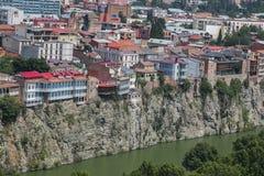 Vista di vecchia Tbilisi Fotografia Stock Libera da Diritti