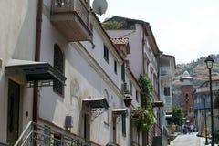 Vista di vecchia Tbilisi Immagine Stock Libera da Diritti
