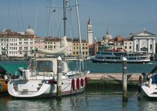 Vista di Venezia Immagini Stock
