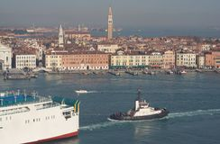 Vista di Venezia Fotografia Stock Libera da Diritti