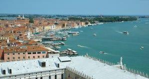Vista di Venezia Immagine Stock
