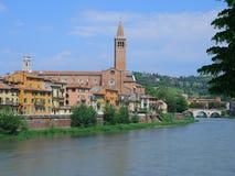 Vista di Verona, Italia Immagini Stock Libere da Diritti