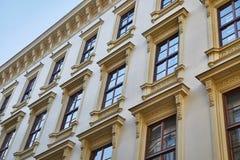 vista di verticale degli appartamenti del blocco Fotografia Stock