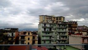 vista di verticale degli appartamenti del blocco Fotografia Stock Libera da Diritti