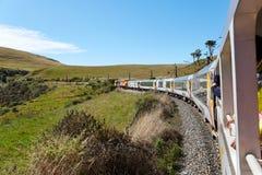Vista di viaggio della ferrovia immagine stock