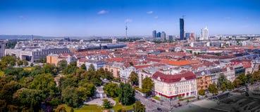 Vista di Vienna Fotografia Stock Libera da Diritti