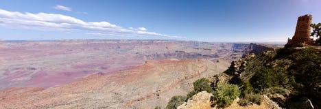 Vista di vista del deserto Fotografia Stock