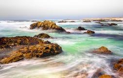 Vista di vista sul mare dell'oceano Pacifico Fotografia Stock Libera da Diritti