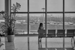 Vista di vista sulla città Immagine Stock