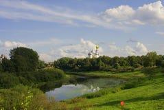 Vista di Vologda (Russia) Immagine Stock