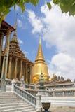 Vista di Wat Phra Kaew immagini stock