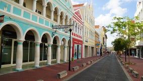 Vista di Willemstad, Curacao Immagini Stock