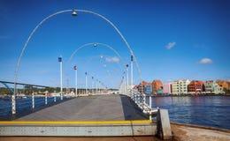 Vista di Willemstad del centro Il Curacao, Fotografie Stock Libere da Diritti