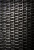 Vista di wovenwork dalle strisce artificiali del rattan Fotografia Stock Libera da Diritti