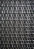 Vista di wovenwork dalle strisce artificiali del rattan Fotografia Stock