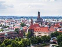 Vista di Wroclaw Immagini Stock Libere da Diritti