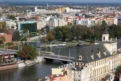 Vista di Wroclaw poland Immagine Stock Libera da Diritti