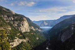 Vista di Yosemite Fotografia Stock