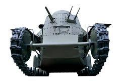 Vista dianteira de um carro de combate leve Fotografia de Stock Royalty Free