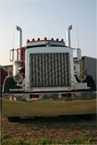Vista dianteira do caminhão Fotografia de Stock