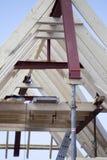 Vista dianteira do telhado lançado fotos de stock royalty free