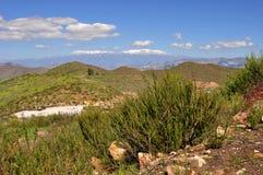 Vista distante di San Gorgonio Fotografie Stock