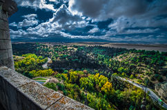 Vista do Alcazar Fotografia de Stock Royalty Free
