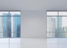 Vista do arranha-céus Imagem de Stock Royalty Free