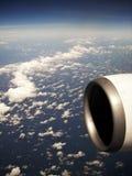 Vista do avião Foto de Stock