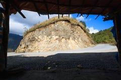 Vista do bonde Ton Pass perto de Sapa Imagem de Stock Royalty Free