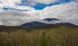 A vista do botão de Mason's negligencia com a nuvem que cobre a parte superior fotos de stock royalty free