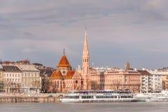 Vista do Budapest, Hungria Fotografia de Stock