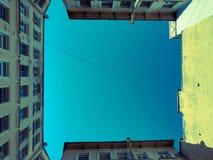 A vista do c?u n fotografia de stock royalty free