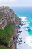 Vista do cabo da boa esperança África do Sul imagem de stock