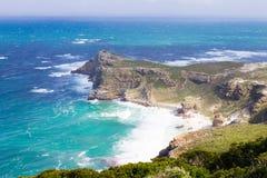 Vista do cabo da boa esperança África do Sul foto de stock royalty free