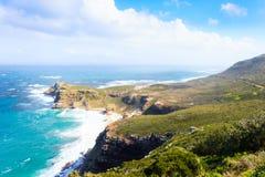 Vista do cabo da boa esperança África do Sul imagem de stock royalty free