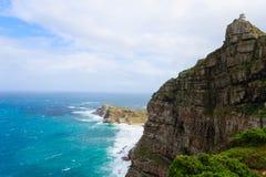 Vista do cabo da boa esperança África do Sul foto de stock
