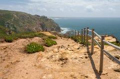 Vista do cabo Roca Imagens de Stock Royalty Free