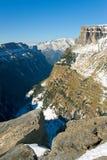Vista do canhão e do vale de Ordesa Foto de Stock Royalty Free