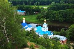 Vista do carrinho de mão em uma capela, Samara de Tsar Imagem de Stock