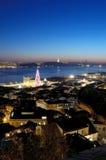 Vista do castelo Imagem de Stock Royalty Free